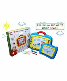 FunBlast Magic Slate Writing Board With Inbuilt Handle  - (Color May vary)