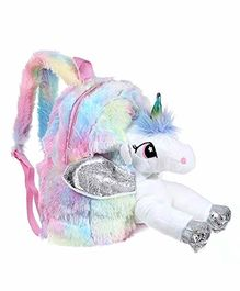 FunBlast Unicorn Soft Bag Pink - 12 Inches