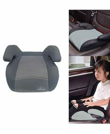 Safe-O-Kid Backless Booster Car Seat - Grey