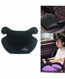 Safe-O-Kid Backless Booster Car Seat - Black