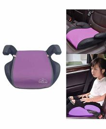 Safe-O-Kid Backless Booster Car Seat - Purple