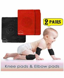 Babymoon Knee & Elbow Caps Pack of 2 Pairs - Multicolour