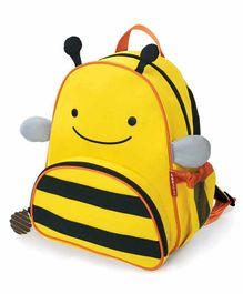 Skip Hop Honey Bee Design Backpack Blue Yellow - 12 Inches