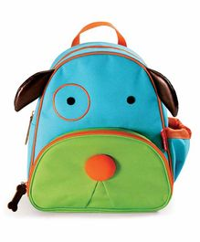 Skip Hop Puppy Design Backpack Blue Green - 12 Inches