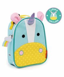 Skip Hop Unicorn Design Insulated lunch Bag - Blue Yellow