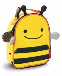 Skip Hop Honey Bee Design Insulated lunch Bag - Yellow