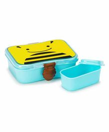Skip Hop Bee Design Lunch Box - Blue