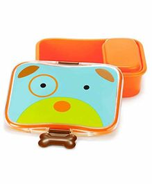 Skip Hop Puppy Design Lunch Box - Blue Orange