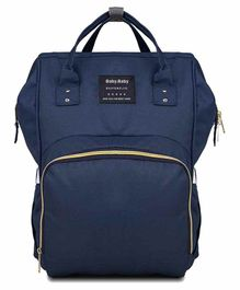 My NewBorn Premium Backpack Style Diaper Bag - Blue