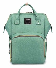 My NewBorn Premium Backpack Style Diaper Bag - Green