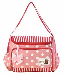 My NewBorn Premium Diaper Bag - Red