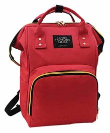 My New Born Back Pack Style Diaper Bag - Red
