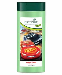 Baby Biotique Apple Twist Shampoo Disney Car Print Green - 180 ml