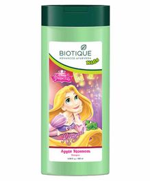 Baby Biotique Apple Twist Shampoo Disney Princess Print Green - 180 ml