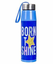 FunBlast Double Wall Insulated Stainless Steel Water Bottle Blue - 500 ml