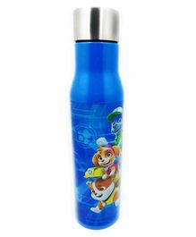 FunBlast Double Wall Insulated Stainless Steel Water Bottle Blue - 800 ml