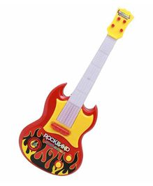 Toyshine Musical Guitar with Lights - Red