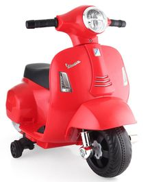 Vespa Battery Operated Ride On - Red