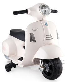Vespa Battery Operated Ride On - White