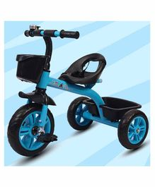 Little Olive Bugs Bunny Tricycle with Storage Baskets - Blue