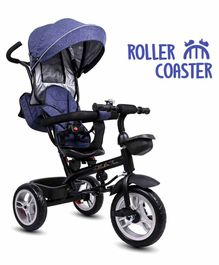 Little Olive Roller Coaster 3 in 1 Tricycle with Canopy - Blue