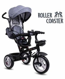 Little Olive Roller Coaster 3 in 1 Tricycle with Canopy - Grey