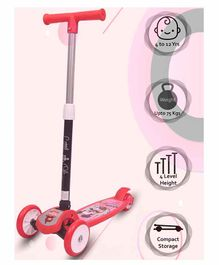 Little Olive Tikes 3 Wheel Scooter Adjustable Height - Red