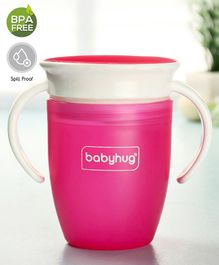 Babyhug 360° Training Sipper Cup Pink - 240 ml