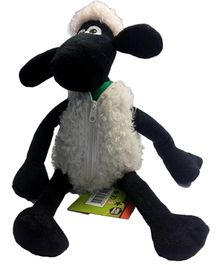 Shaun the Sheep Sitting Plush with Zipper Toy - 25 cm