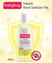 Babyhug Alcohol Based Hand Sanitizer Citrus Fragrance - 100 ml