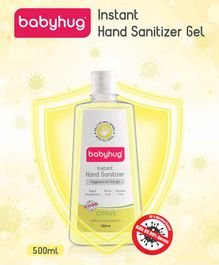 Babyhug Alcohol Based Hand Sanitizer Citrus Fragrance - 500 ml