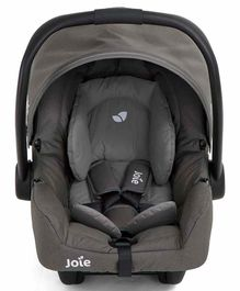 Joie Car Seat Cum Carry Cot with 5 Point Safety Harness - Grey Black