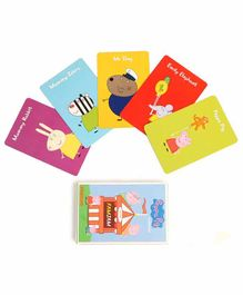 Shumee Peppa Pig Famjam Card Game - Multicolor