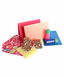 Shumee Peppa Pig DIY Stamp & Sticker Set - Multicolor