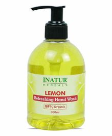Inatur Herbals Lemon Hand Wash - 300 ml