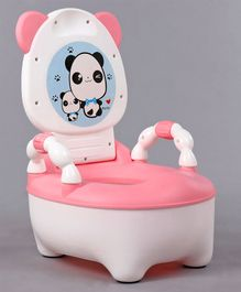 Babyhug Little Panda Potty Chair - Pink