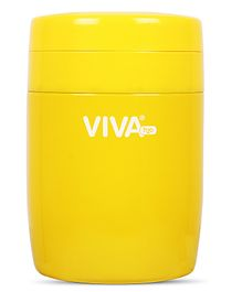 Viva h2o Double Wall Vacuum Insulated Stainless Steel Jar Yellow - 280 ml