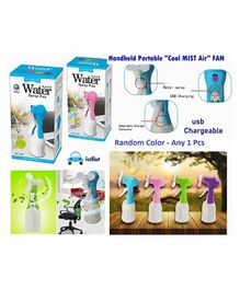 FunBlast USB Chargeable Water Spray Fan (Colour May Vary)