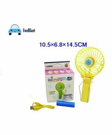 FunBlast Rechargeable Fan(Colour May Vary)