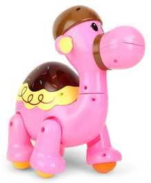 SkyKidz Dancing Camel Musical Toy  - Pink