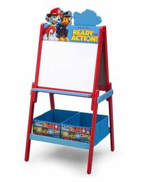 Delta Children Paw Patrol  Easel with Storage Bins - Multicolor