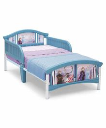 Delta Children Metal & Palstic Bed - White & Blue