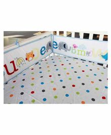 My Mom Store Little Genius Bumper Set - Multicolor
