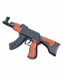 Webby Target Shooting AK-47 Self Assemble Toy Gun - 159 Pieces