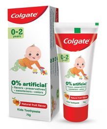 Colgate Natural Fruit Flavour Fluoride Free Tooth Paste - 70 grams