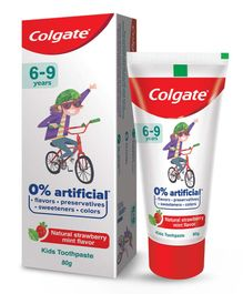 Colgate Natural Strawberry Mint Flavour Tooth Paste - 80 grams