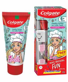 Colgate Anticavity Barbie Toothpaste Strawberry Flavor with Free Toy - 80 grams