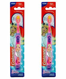Colgate Barbie Extra Soft Tootbrush Pack of 2 - Pink