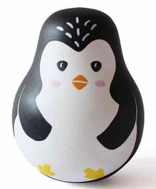 Shumee Wobbly Penguin Roly Poly Toy - Black White