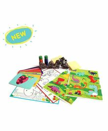 Shumee Dino Fun Activity Set  -  Multicolor